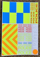 RC 'POLICE INTERCEPTOR' 1/10th scale decals stickers SUBARU MITUBISHI EVO set 1