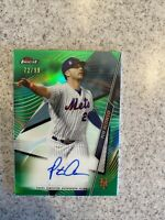 Pete Alonso 2020 Topps Finest Green Refractor Autograph Auto Card /99