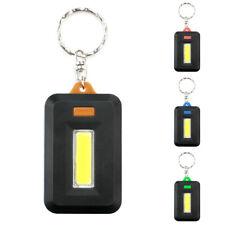 Portable Mini COB LED Keychain Flashlight Outdoor Camping Climbing Light Lamp AU