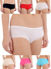 Patternless Bikinis Everyday Mid Rise Knickers for Women
