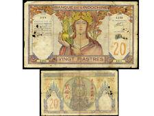 INDOCHINE  20  piastres  1928 - 1931      (  C159  )