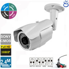 License Plate TVI Camera 2.4MP 1080P Long Range 5-50mm Lens 84 IR LEDs Sony CMOS