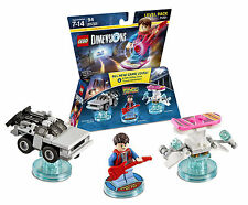 LEGO DIMENSIONS Level Pack 71201 Back to the Future Marty DeLorean Time Machine
