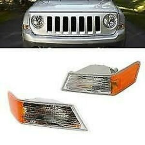 2 X Light Indicator Front For Jeep Patriot 2007 Indicator Light