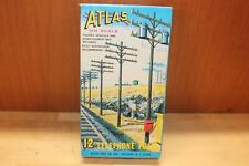 Vintage Atlas HO Scale 12 Telephone Poles #775 in the Original Box