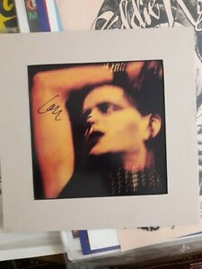 Lou Reed Rock'n'Roll Animal Autograph  VELVET UNDERGROUND NY LP Concert poster