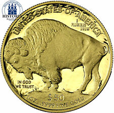 USA 50 Dollar Gold 2013 PP  Goldmünze American Buffalo Büffel und Indianerkopf