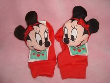 Disney Minnie Mouse Vintage 1984 Playskool Baby Foot Jingles Rattle