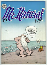 Mr. Natural  #3 Underground 1st Printing 1977 Kitchen Sink R. Crumb VF/NM Nice!!