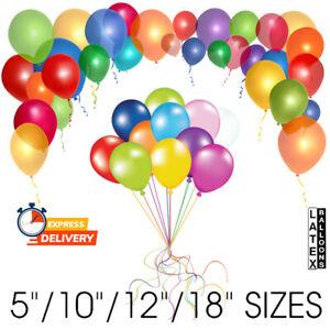 "Latex PEARL/PLAIN 5""/10""/12""/18"" BALLOONS BALLONS AirHelium Quality Party BALOON"