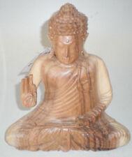 Buddha aus asiatischer Eiche 20 cm hoch