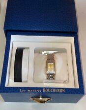 Boucheron Reflet Watch Ladies Gold and Steel