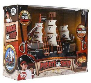 "10"" PIRATE SHIP BOAT"