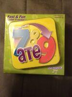 7 Ate 9 Fast & Fun Crunchn'! Card Game Playmonster NIB
