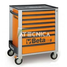Carrello cassettiera mobile Beta C24S 8/O portautensili 8 cassetti arancio