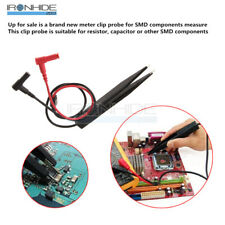 SMD 10mm Inductor Test Clip Probe Tweezer for Resistor Multimeter Capacitor