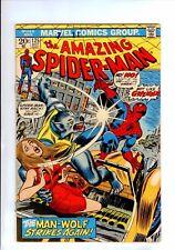 The Amazing Spider-Man #125 (Oct 1973, Marvel)  MAN WOLF!!!  HIGH GRADE 8.0