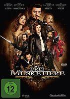 DIE DREI MUSKETIERE  DVD NEU  CHRISTOPH WALTZ/ORLANDO BLOOM/MADS MIKKELSEN/+