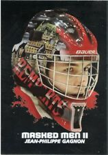 09/10 BETWEEN PIPES MASKED MEN II MASK SILVER #MM-32 JEAN-PHILIPPE GAGNON *44367