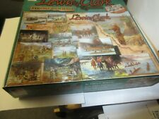 """Puzzle The Lewis and Clark Expedition 1000 piece complete 191/4"""" X 26 5/8"""""""