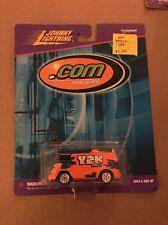 JOHNNY LIGHTNING .COM RACER Y2K BUS Rubber Tires