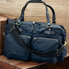 CC FILSON 48-hour Tin Cloth Duffle Bag Navy Weekend Overnight 11070328 NEW Tags