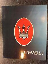 N2009 MASERATI GHIBLI 2.0L
