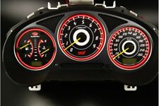 Subaru Impreza 2000-2007 design 2 glow gauges dials plasma dials kit tacho glow