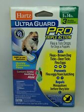 Hartz Ultra Guard PRO Flea & Tick Treatment for Dogs & Puppies 5-14 lbs 3 month