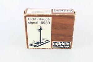 Märklin 8939 Main Traffic Light Gauge Z Original Packaging +Top +