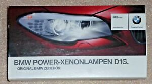 BMW Power Xenon Lamp Upgrade OEM D2S Xenon Light Bulb Pair BRAND NEW