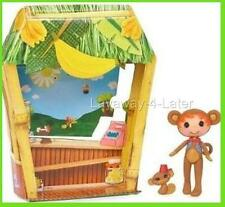 Mini Lalaloopsy Silly Funhouse Ace Fender Bender Boy Doll Figure & Pet Monkey NP
