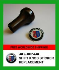 BMW ALPINA Shift perilla Pegatina Schaltknauf AUFKLEBER resistente a grietas de reemplazo