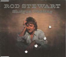 ROD STEWART Shotgun Wedding 3TRX w/ RARE LIVE TRK CD Single USA seller 1995