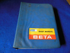 Original Lancia Beta Factory Service Manual Saloon Coupe HPE Spider 88798847