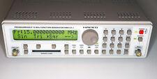 Hameg hm8131-2 Programmable 15 MHz Funktions generador Rohde negro