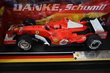 Ferrari 248 F1 Michael Schumacher HotWheels Formel 1 Danke Schumi 2006 1:18