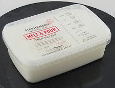 Shea Butter 1kg Melt and Pour Soap Base - SLS Free - Soap Making