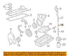 VW VOLKSWAGEN OEM 03-05 Beetle Engine Parts-Tube 06F103663