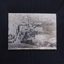 Fotografía Vintage Menton 1870