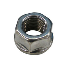 """ARP 400-8607 Hex Nut 1/2""""-20 Flanged Polished Stainless Steel Each"""