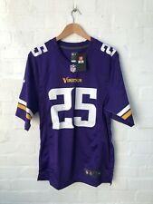 Nike Minnesota Vikings NFL Men's Home Jersey - Small - Murray 25 - Purple - New