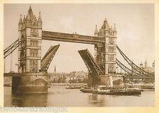 Postcard: Tower Bridge, London, 1970s (2014)