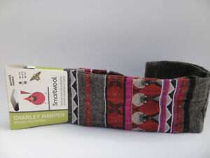 Smartwool CHARLEY HARPER GLACIAL BAY SEAL Wool Blend Socks, Taupe Wmn Sz M