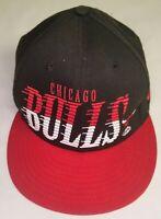 Chicago Bulls Hardwood Classics - New Era 9Fifty - Snapback Hat - Black & Red