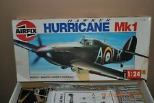 Airfix Hawker Hurricane Mk1 WWII Fighter Plane Model Kit 1:24 #14002