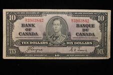 1937 Canada. ($10) Ten Dollars. Series B/T Coyne-Towers.