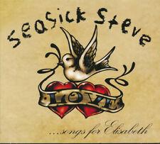 SEASICK STEVE, SONGS FOR ELISABETH, CD MINI ALBUM, EUROPE 2010 (SEALED)