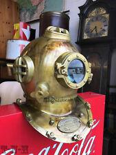 Antique Boston Scuba Divers Diving Helmet Navy Mark 5 Deep Sea Marine Diver Gift