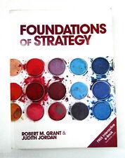 Foundations of Strategy Book Robert Grant & Judith Jordan Paperback